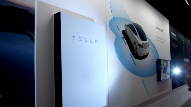 The future? Tesla's Powerwall is just one of several batteries on the market.