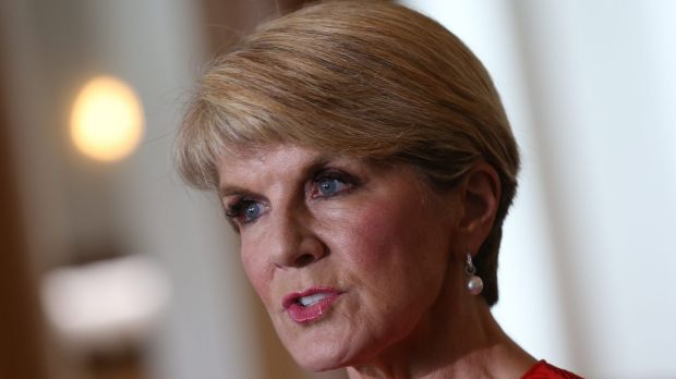 Foreign Affairs minister Julie Bishop says Australia will work with the US on strong border protection policies.