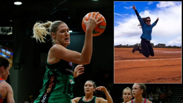 Jane Ward plans on commuting 1700 kilometres each match to watch the West Coast Fever this season.
