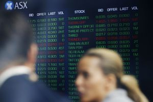 The benchmark S&P/ASX 200 index has lagged global share markets in the last financial year.