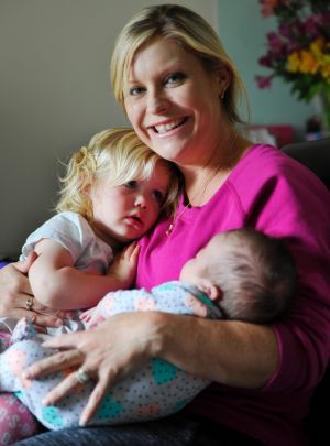 Fertility treatment for the two girls cost a combined $32,000.