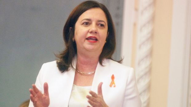 Premier Annastacia Palaszczuk says she was unaware her director-general's wife was awarded government contracts.
