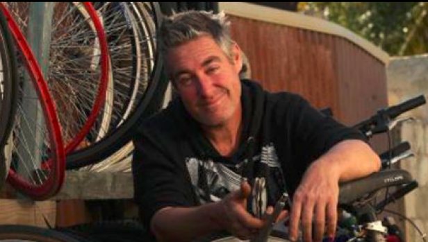 Jeremy Devereux has repaired and given away more than 1500 bikes since 2015.