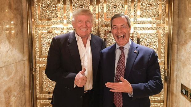 Guardian: UK's Nigel Farage 'Person Of Interest' In FBI Russia Investigation