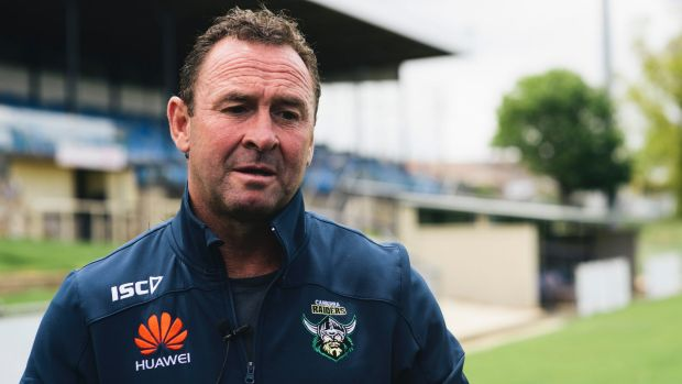 Raiders coach Ricky Stuart has re-signed until the end of 2020.