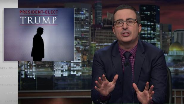 John Oliver tries to make sense of Trump's America on Last Week Tonight.