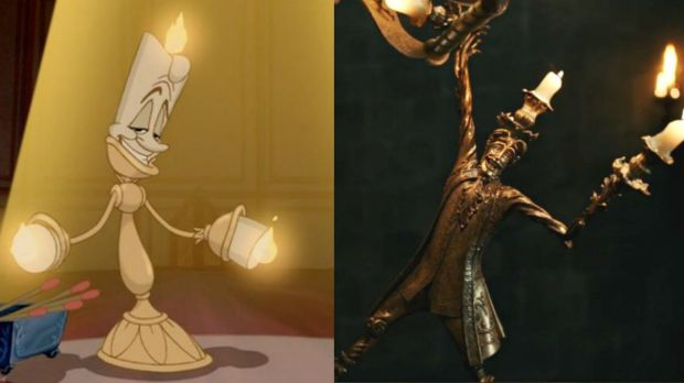 Lumiere In The Original IBeauty And Beast I