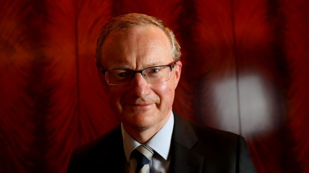 RBA governor Philip Lowe thinks the economy is picking up.
