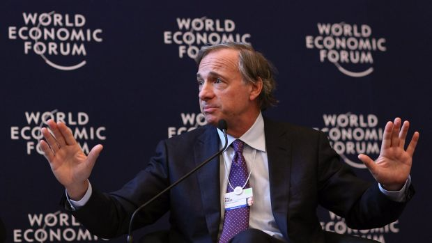 "Ray Dalio, the founder of Bridgewater Associates who is best known for his philosophy of ""radical transparency"", came in ..."