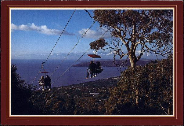 Arthurs Seat Chair Lift From Past To Present