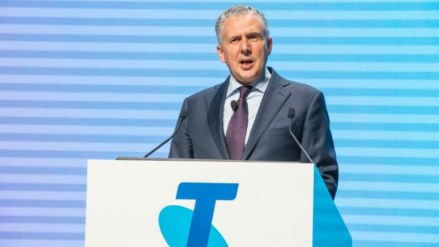 Telstra chief executive Andrew Penn defended his company's conduct.