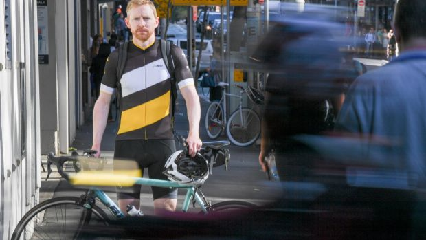Ben Conan, who continues to ride to work in the city, but who has stopped riding around Manly because of blitzes and ...
