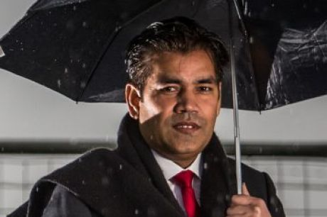 "Wyndham councillor Intaj Khan – Labor's so-called ""King of Bling""."
