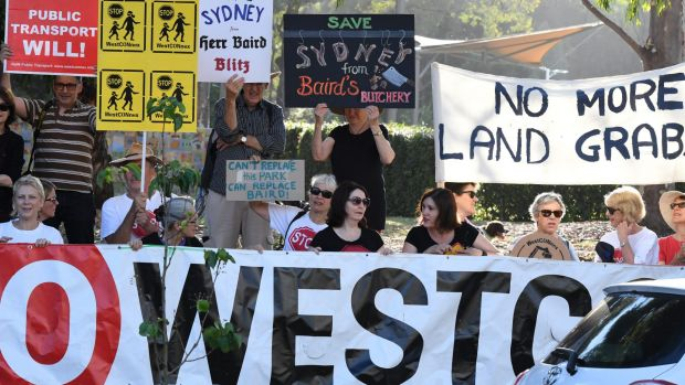 Residents in Sydney's inner-west have been highly critical of WestConnex.