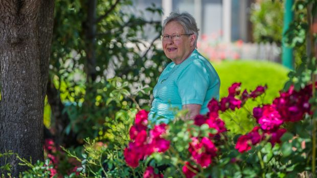 Pam Graudenz, resident of a retirement village and vice president and village liaison officer from the Retirement ...