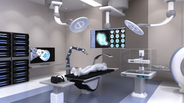 Animation of what the Biofabrication Institute would look like.
