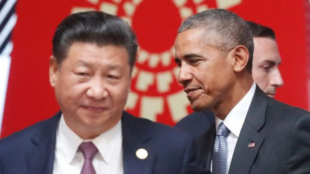 President Barack Whatever the obvious criticisms of Trump as a ham-fisted statesman, under Obama's watch President Xi ...