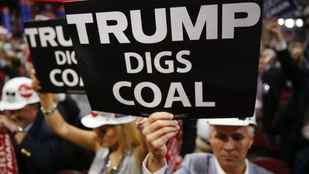 Even Robert Murray - who runs the largest private coal mine in America, is a huge critic of Obama and a backer of Trump ...