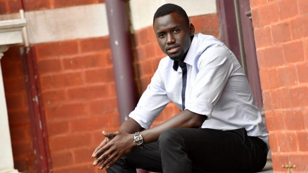 Youth worker and legal educator Deng Maleek was pulled over by police on his way to a meeting about building trust ...