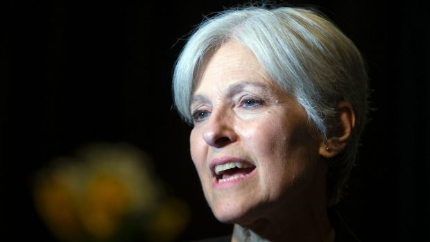 Green party former presidential candidate Jill Stein