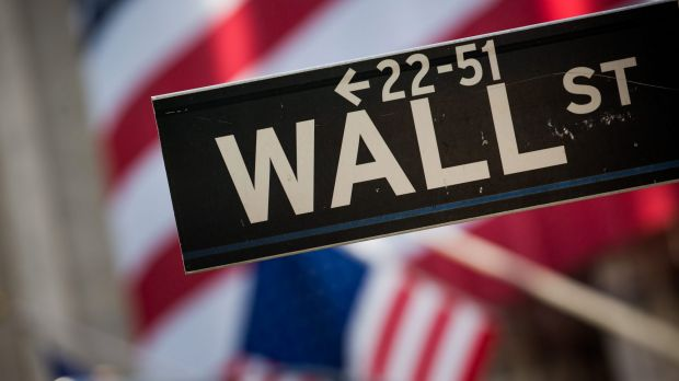 The Dow Jones has gained 18 per cent since Donald Trump's US election win.