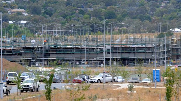 Canberra apartment building: Canberra has the highest proportion of units to houses of any capital city, according to QBE.