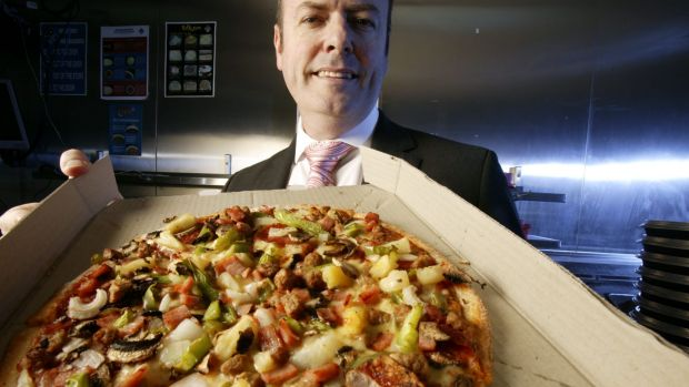 Don Meij, chief executive of Domino's Pizza.