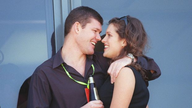 Ms Malkah, then called Kate Fischer, was engaged to billionaire James Packer in the 1990s.