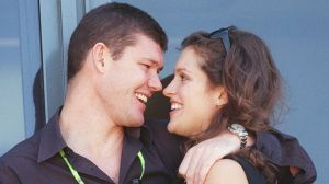 James Packer and Kate Fischer were a glamour couple in the late 90s.
