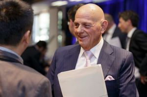 Retailer Premier Investments chairman Solomon Lew, and now Myer's largest shareholder.