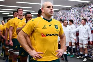 Retirement: Wallabies captain Stephen Moore has decided to hang up the boots.