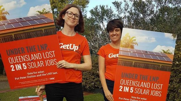 GetUp! campaigners.