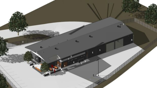 Plans for the new SES base at Calwell.