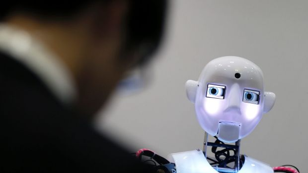 Man versus machine in the job market: There's evidence now that machines could be winning.