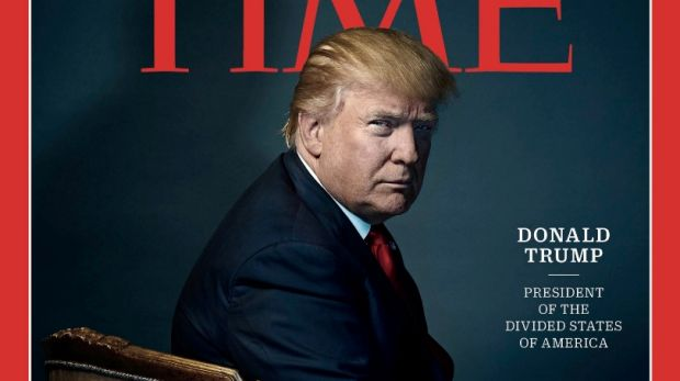 Donald Trump on the cover of Time.