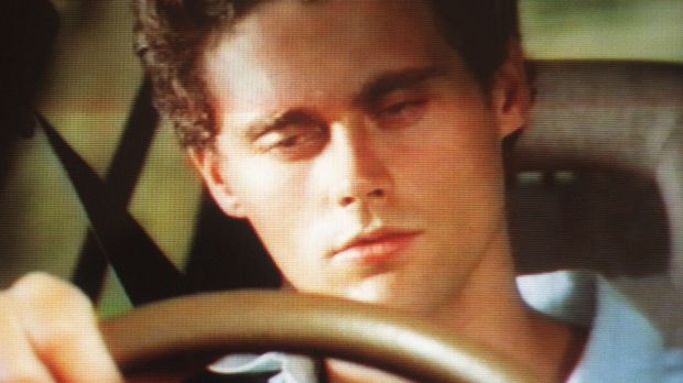 """A sleepy driver in an Easter road safety advertisement. Greg Harper's """"Bloody idiot"""" commercial was the first in decades ..."""