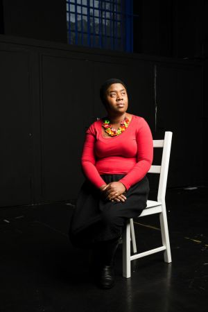 Maxine Beneba Clarke (pictured) with illustrator Van T Rudd received two nods for The Patchwork Bike.