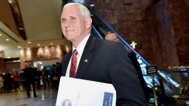 US Vice-President-elect Mike Pence has pledged action.