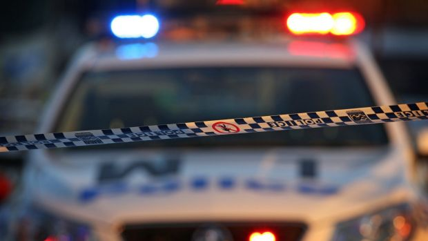 Queanbeyan police have pulled their guns on a driver with five passengers after he attempted to flee apprehension.