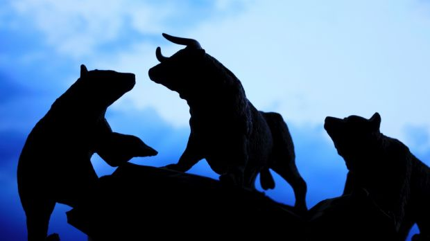 Standoff between bulls and bears in the local market.