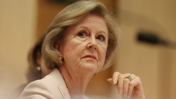 Australian Human Rights Commission president Gillian Triggs at a committee hearing in December.