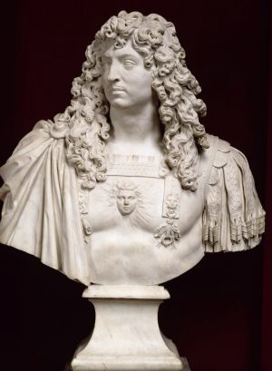 Jean Varin (1604-1672), Bust of Louis XIV, 1665-66. On loan from the Palace of Versailles.