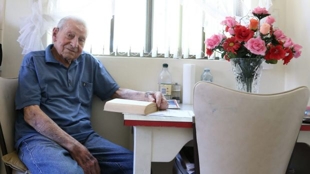 "Antal Torok, born in January 1914, says the key to longevity is ""not overdoing things, but always doing something""."