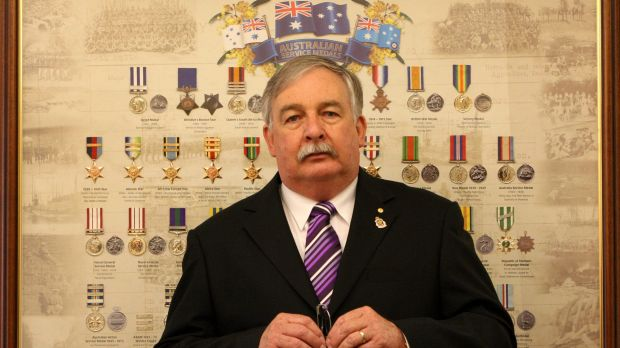 Former NSW RSL president Don Rowe.