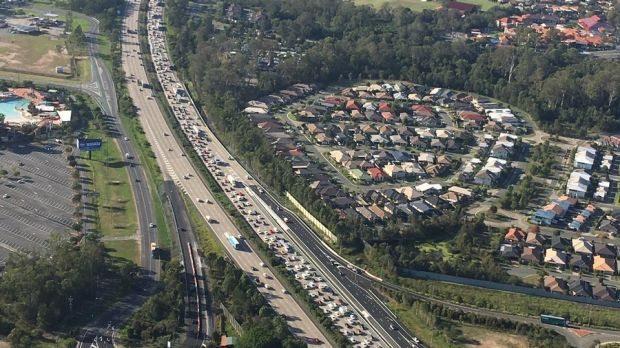 ​Police have urged drivers to avoid Queensland's busiest motorway during the games.