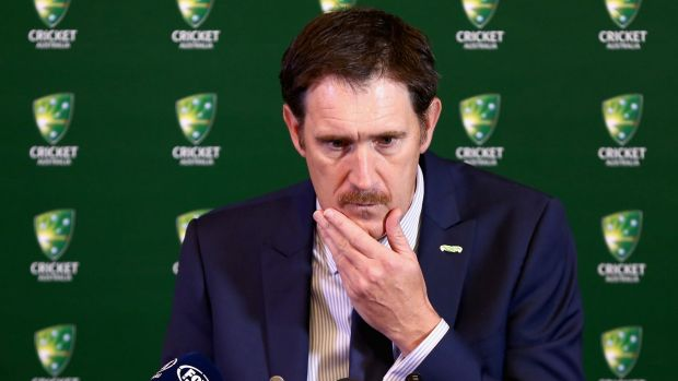 Furious: Cricket Australia boss James Sutherland sent an explosive email to players.