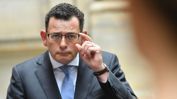 Premier Daniel Andrews wants to push ahead with plans for random breath testing of MPs.
