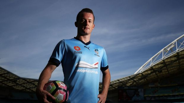 Battle hardened: Lessons learnt in the FFA Cup final have strengthened Brandon O'Neill for the finals series.