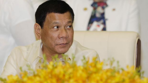 Philippine President Rodrigo Duterte said that he started taking the drug fentanyl, which is usually prescribed for ...