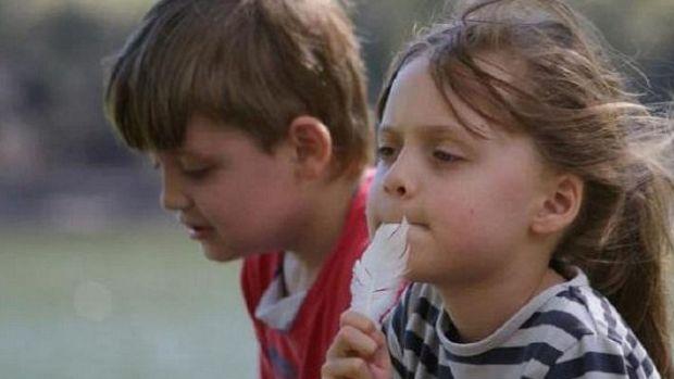 Both children were born in Australia; Martin in August 2006, Elisa in May 2005.